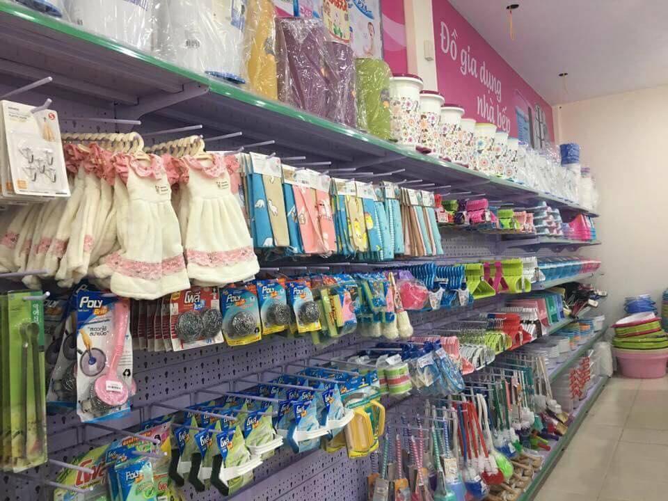 hàng hóa giá kệ siêu thị tại Đồng Nai