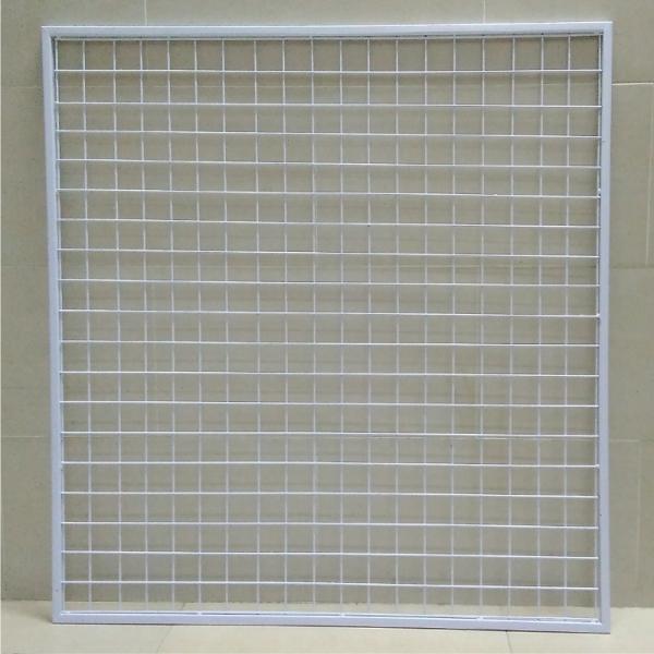 Lưới treo phụ kiện gắn tường màu trắng